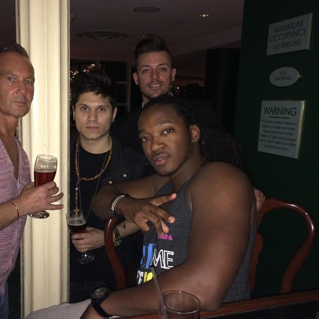 Drinks with Tearce Kizzo and Tony Rodini Sony/ATV producers