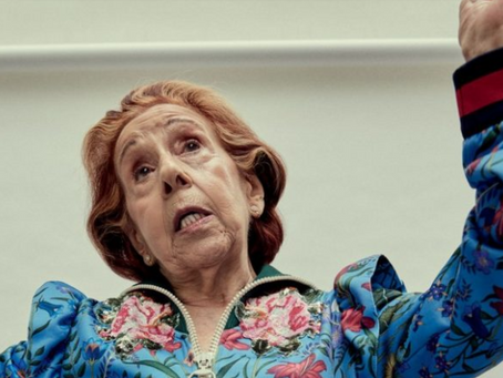 Cora Zobaran: atriz de sucesso aos 88 anos
