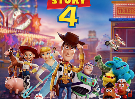 TOY STORY 4  3D +6anos