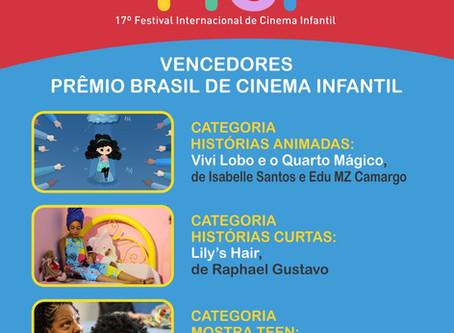 VENCEDORES DO PRÊMIO BRASIL DE CINEMA INFANTIL