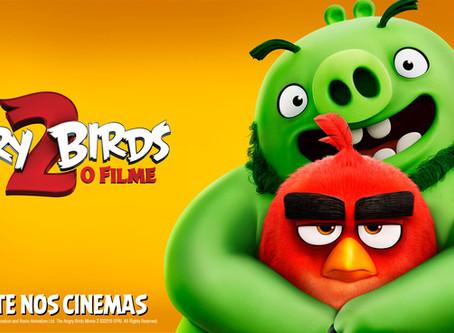 ANGRY BIRDS 2 - O FILME  +8 anos