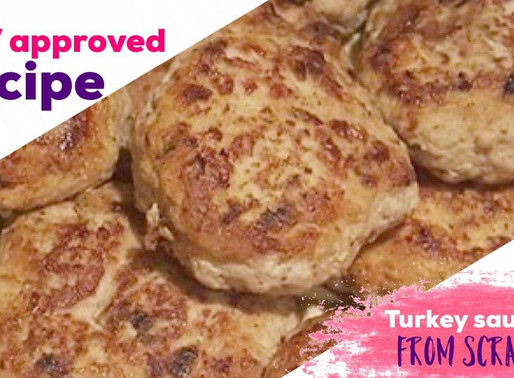 Turkey Sausage For Breakfast, Lunch or Dinner