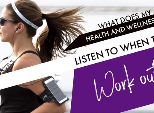What Does My Health and Wellness Coach Listen To When They Work Out?