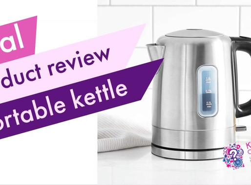 Take a Portable Electric Hot Water Kettle On The Road