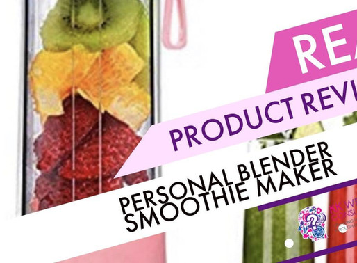 Personal Size USB Portable Blender?  Yes That Is A Thing And We Reviewed It