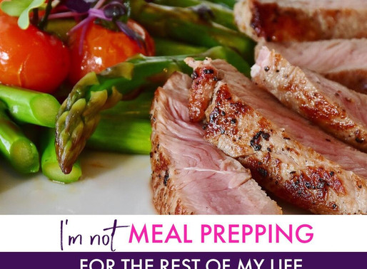 I Am NOT Going to Meal Prep The Rest Of My Life Coach K!