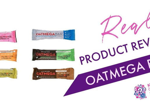 Oatmega Protein Bar- Grass Fed Whey Protein Bars!