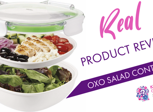 Five Star Rated OXO Good Grips Leakproof On-The-Go Salad Container