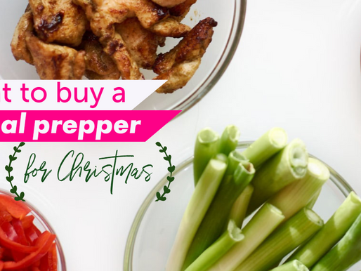 What To Buy a Meal Prepper For Christmas