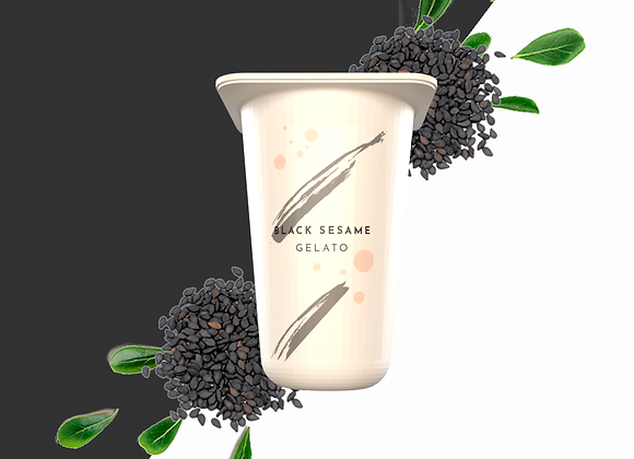 Black Sesame Gelato