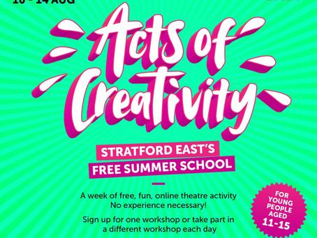 Acts of Creativity - Digital Summer School