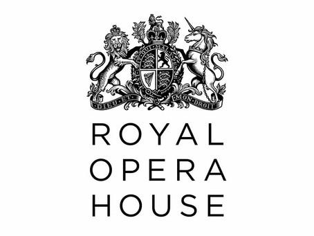 Training with Royal Opera House