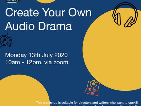 Audio drama workshop for Peshkar
