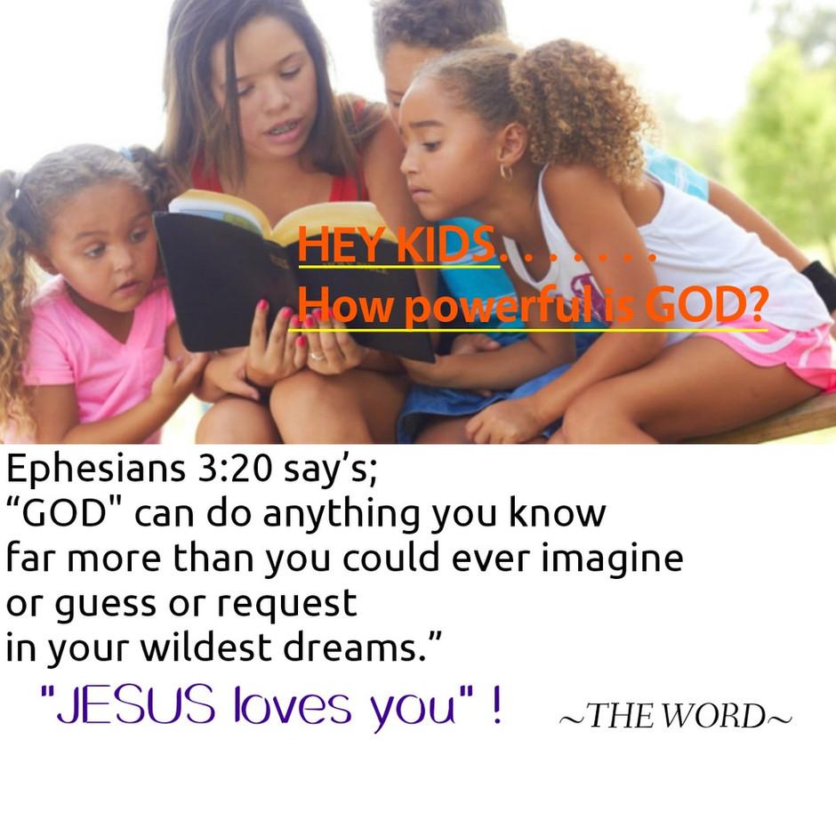 """LEARNING ABOUT GOD"" ! [I]"