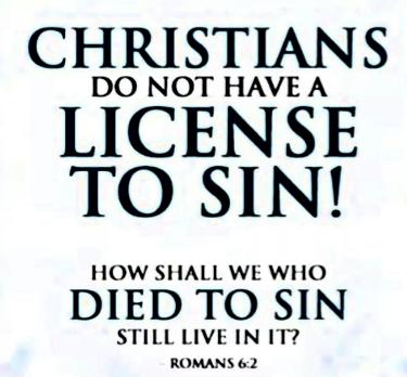 Do Christians sin ?