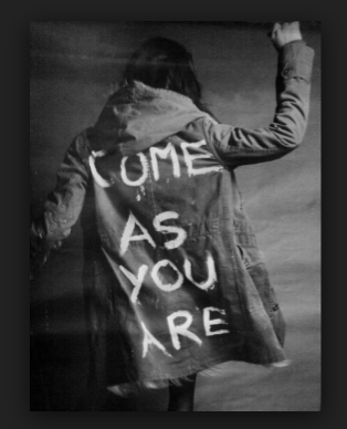 Come just as you are !