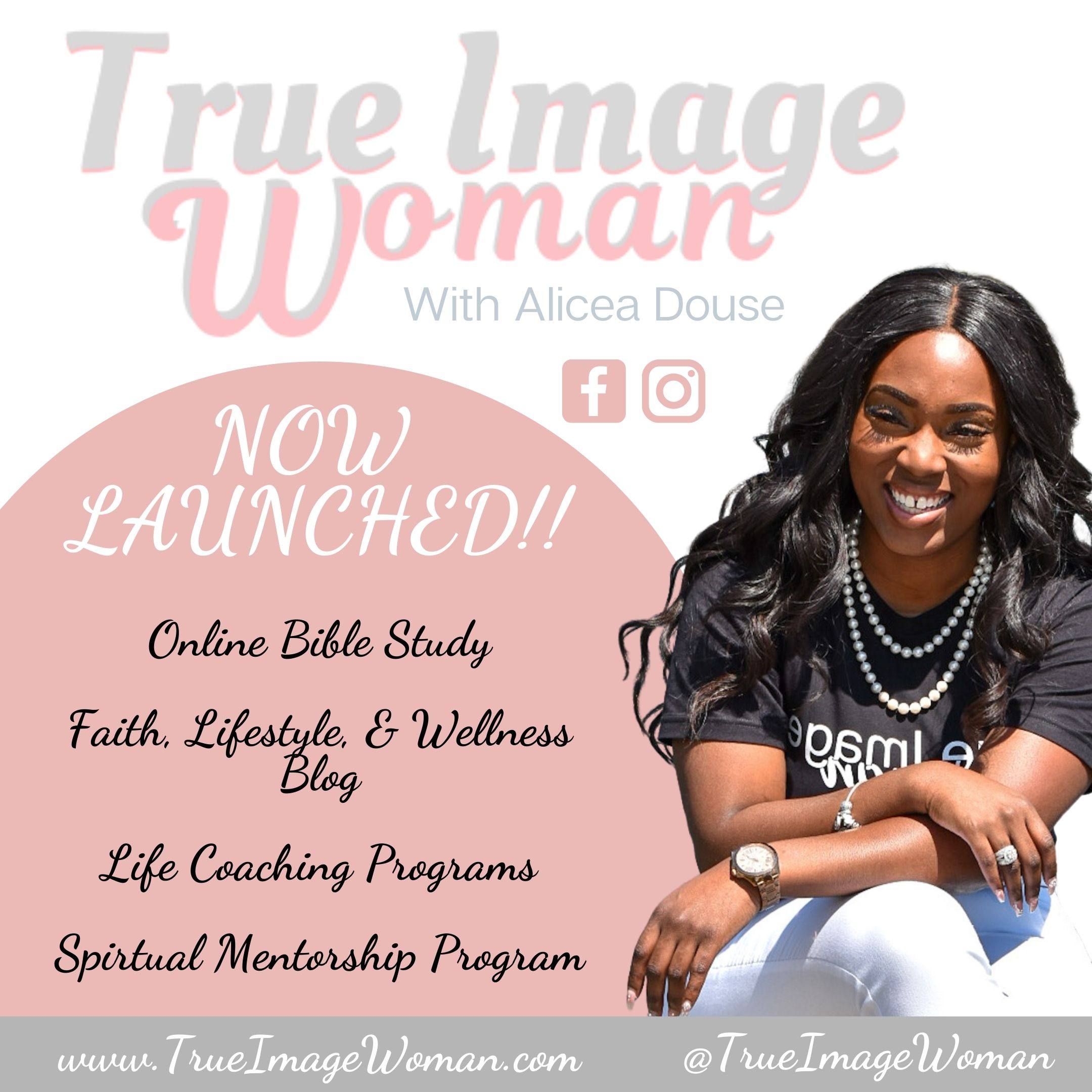 True Image Woman Promo Flyers