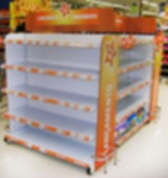 Gôndolas para supermercado