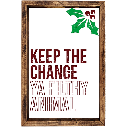 Home Alone - Keep The Change