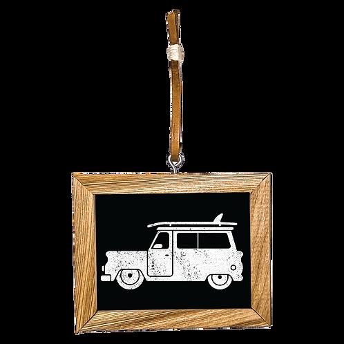 Surf Wagon Ornament