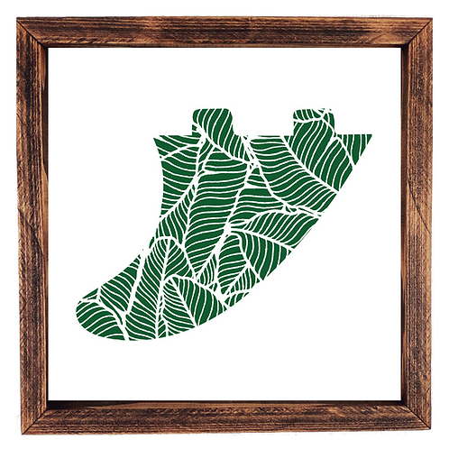 Surf Fin - Banana Leaf