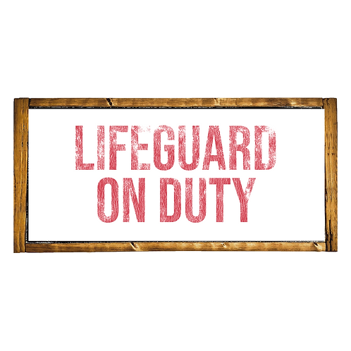 Lifeguard On Duty Mini