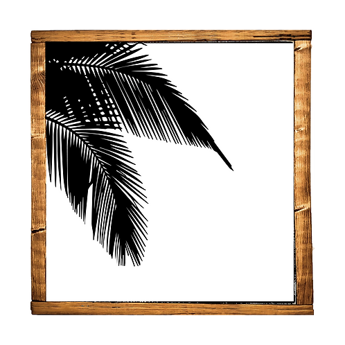 Modern Palm // WHITE