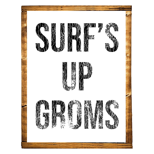 Surf's Up Groms // BLACK