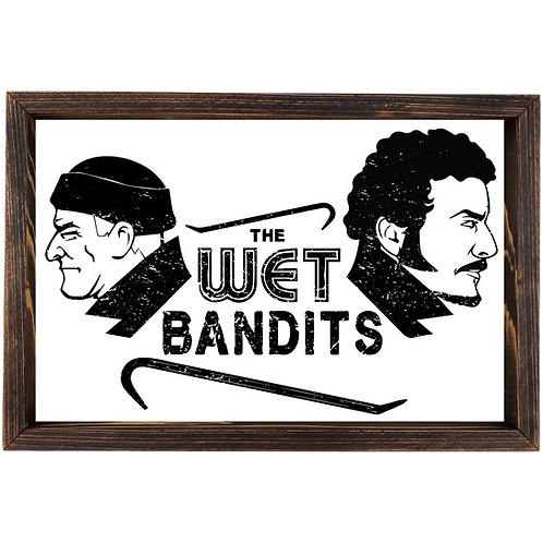 Home Alone - Wet Bandits