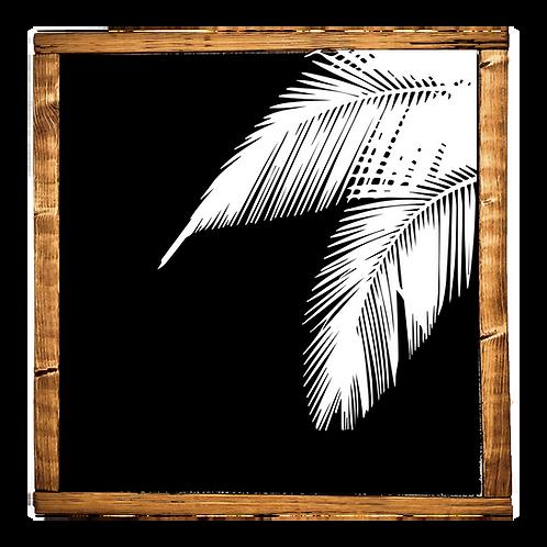 Modern Palm // BLACK