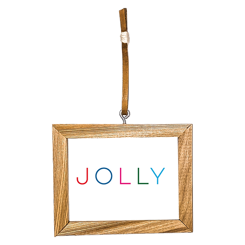 Jolly Ornament