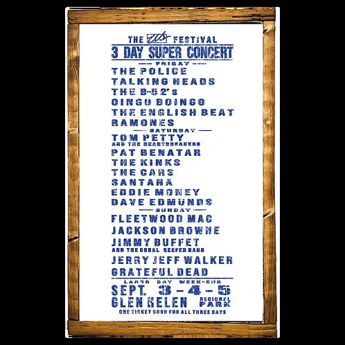 US Festival Concert (Blue)