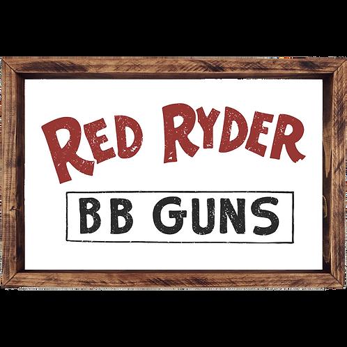 Red Ryder BB Guns