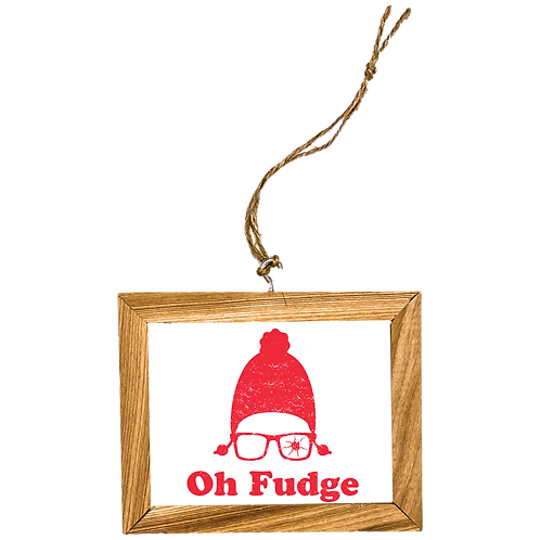Oh Fudge Ornament
