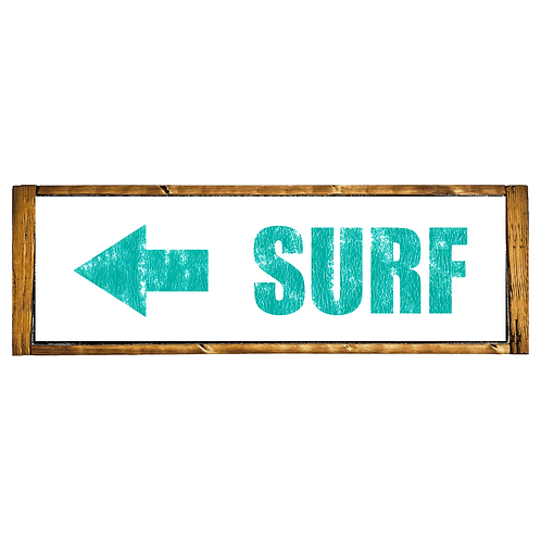 Surf To The Left (Shorty)