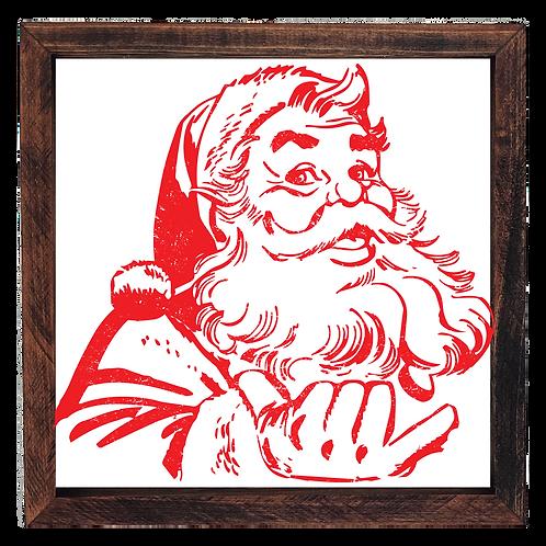 """""""Hang Loose"""" Santa"""
