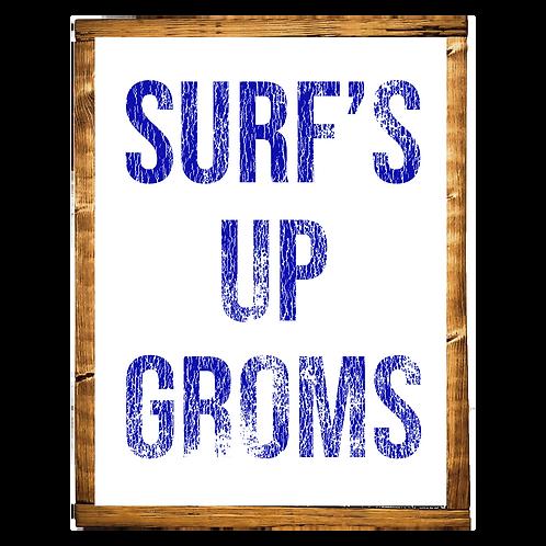 Surf's Up Groms // BLUE