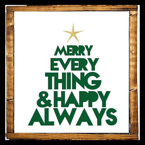 Merry Everything Tree