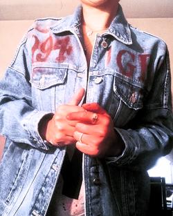 Jean Jacket Personalized