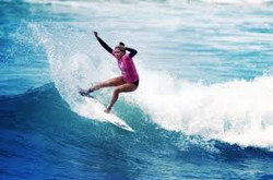 surf sur l'Ocean