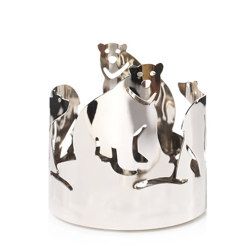 POLAR BEAR - METAL JAR HOLDER