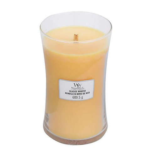SEASIDE MIMOSA LARGE HOURGLASS CANDLE