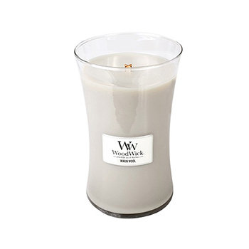 WARM WOOL LARGE HOURGLASS CANDLE