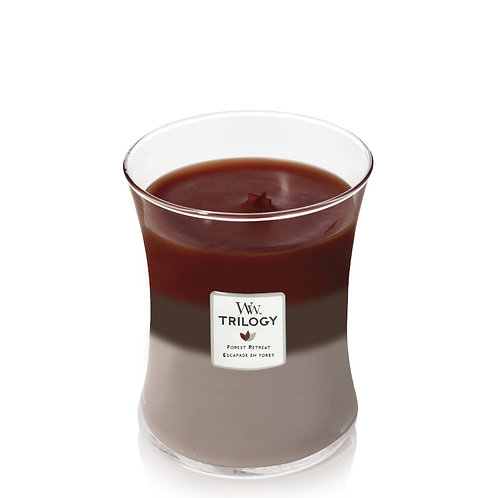 FOREST RETREAT TRILOGY MEDIUM HOURGLASS CANDLE