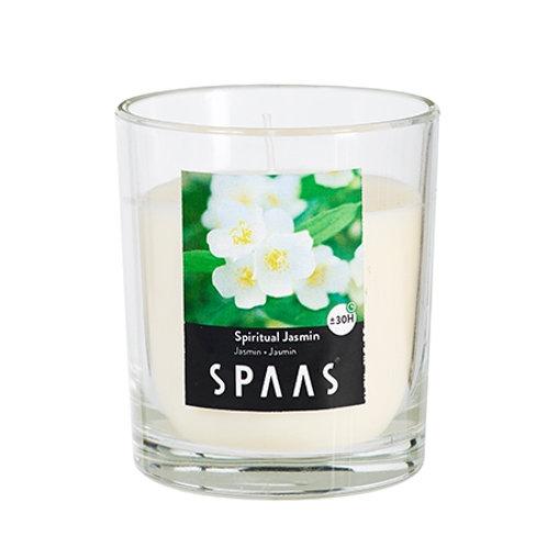 GLASS CLR. SCNTD SPIRITUAL JASMIN