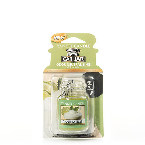 ULTIMATE CAR JAR  - VANILLA LIME