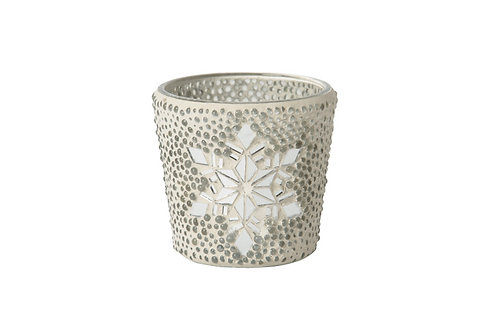 TWINKLE SNOWFLAKE - VOTIVE HOLDER