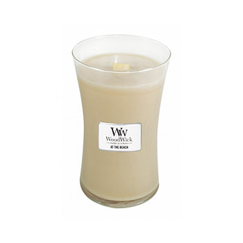 AT THE BEACH LARGE HOURGLASS CANDLE