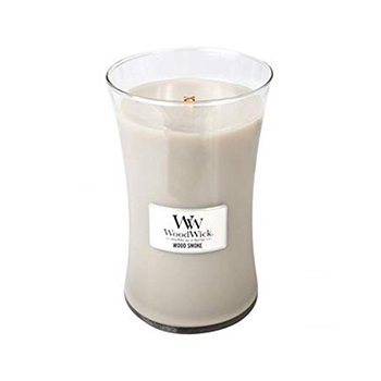 WOODSMOKE LARGE HOURGLASS CANDLE