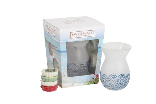 GIFT SET COASTAL LIVING MELT WARMER
